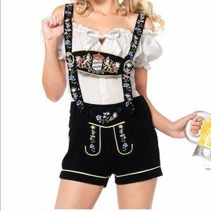 German Bavarian Lederhosen Costume Beer Maiden